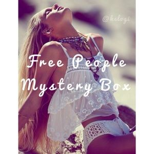 Free People Mystery Box ✌🏼🔮